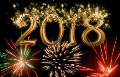 Bonne année 2018 de la part de tout le Lycée privé Clovis Hugues !