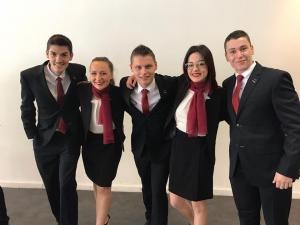 Equipe de France Euroskills - Budapest 2018 - Métiers de Service