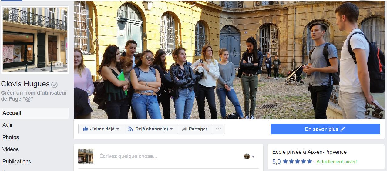Lycée privé Clovis Hugues, CAP coiffure, BTS Tourisme, BTS Comptabilité-gestion, BTS, CAP, Aix-en-Provence, lycée aix-en-provence, Facebook lycée,