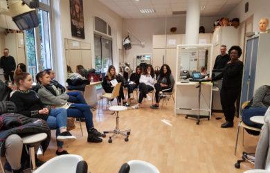 Conférence L'Oréal professionnel relation client, aix-en-provence, Lycée privé Clovis Hugues, coiffure, brevet professionnel