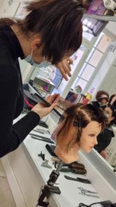 Concours de coiffure : épreuve coupe tendance
