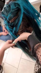 """Concours de coiffure : épreuve thématique """"Coiffure Futuriste"""""""
