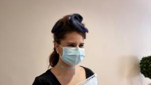 """Mlle DIAS Anaïs, co-organisatrice du Concours de coiffure : épreuve thématique """"Coiffure Futuriste"""""""